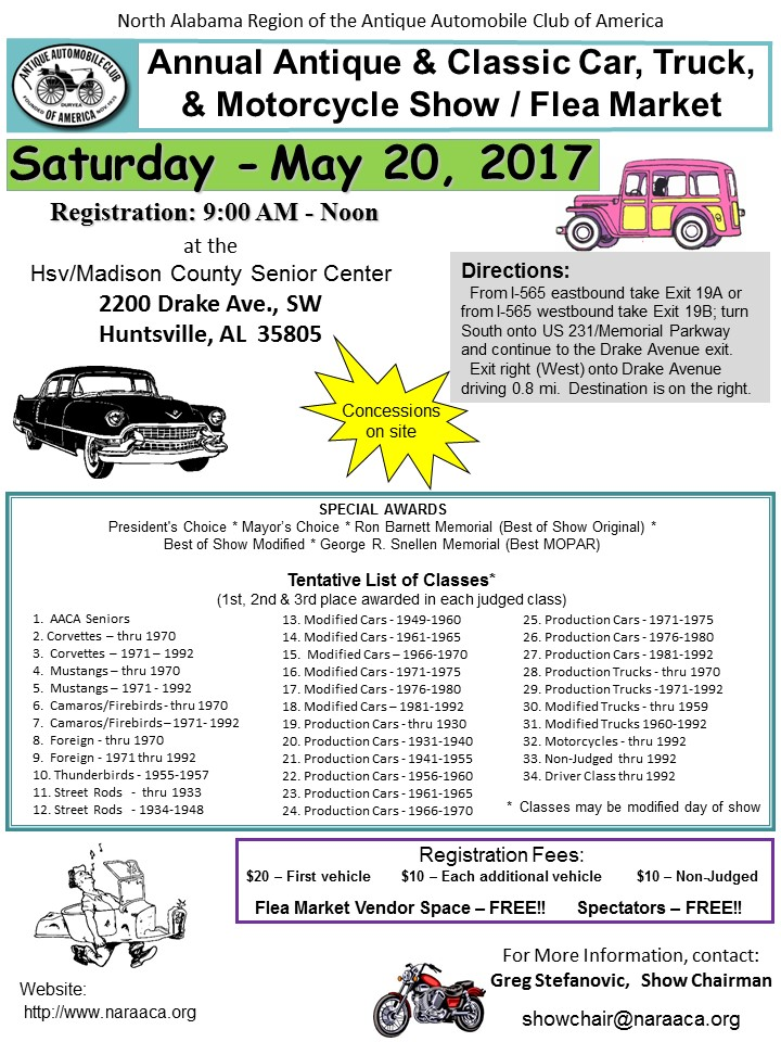 link to car show flyer